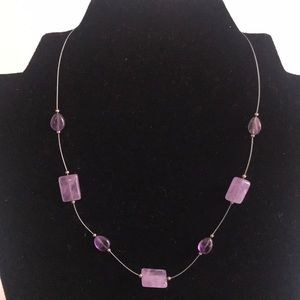 Silpada amethyst necklace